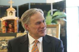 Texas Attorney General Greg Abbott visits his wife Cecilia's  parents' home in San Antonio on June 28, 2013.