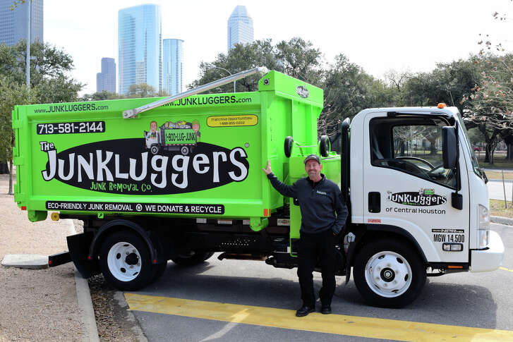 Junkluggers goes to homes and businesses to lug away unwanted items for a fee.