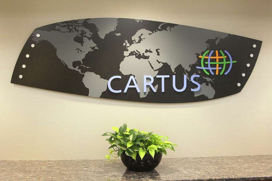 A hallway in the headquarters of Cartus in Danbury, Conn., on Tuesday, Aug. 29, 2017. Photo: Chris Bosak / Hearst Connecticut Media / The News-Times