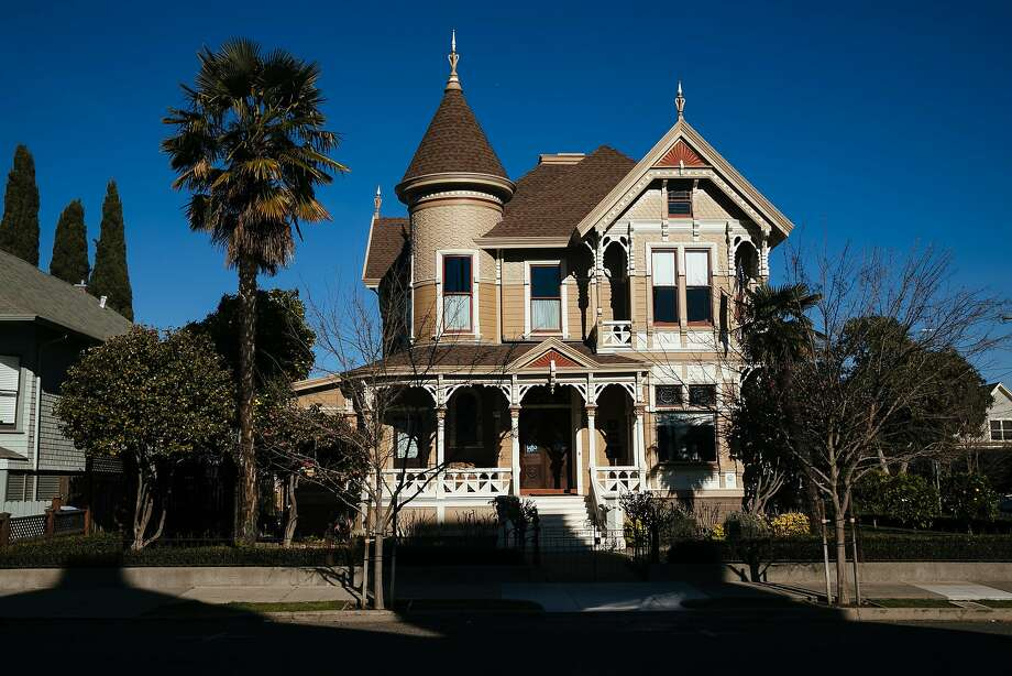 The 130-year-old Ackerman Heritage House has been restored to its former glory, with some 21st century amenities added. Photo: Mason Trinca, Special To The Chronicle