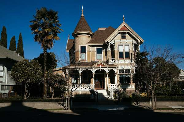 The Ackerman Heritage House photographed in Napa, Calif. Friday, Feb. 16, 2018.
