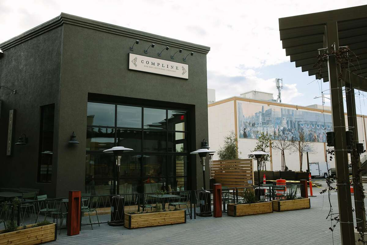 Compline Wine Bar is photographed in Napa, Calif. Monday, Feb. 19, 2018.