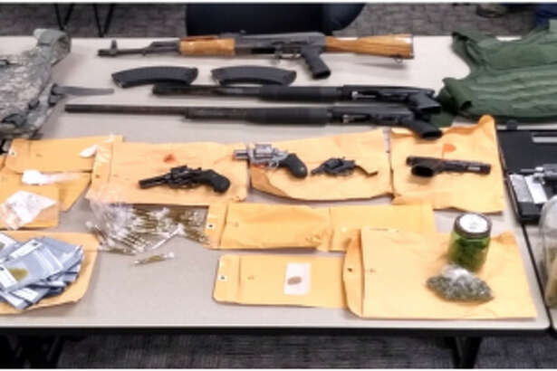 Drugs, guns and body armor were seized by Corpus Christi police after a raid in February.