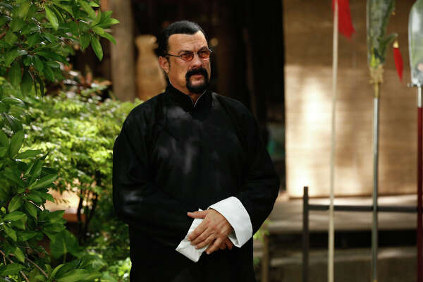 "Steven Seagal, who will star in ""Attrition"" this year, is also helping sell cryptocurrency."