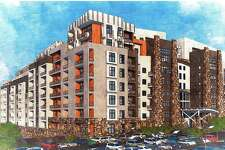 Towne Center at Shelter Ridge, a planned community with apartments, retail, restaurants and possibly a medical building and assisted-living center proposed for Bridgeport Ave. in Shelton, Conn.
