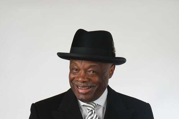 Former Mayor Willie Brown poses for a portrait at his apartment in the St. Regis Hotel on Thursday July 31, 2008 in San Francisco, Calif.