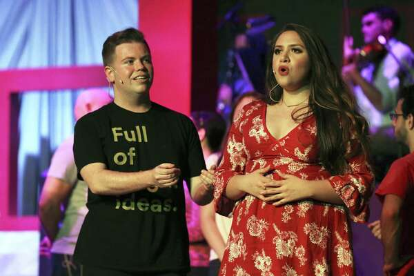 """Joshua Buce and Nora Martinez are two of the leads for """"The Music of Andrew Lloyd Webber."""" The leads play couples at various stages in relationships."""
