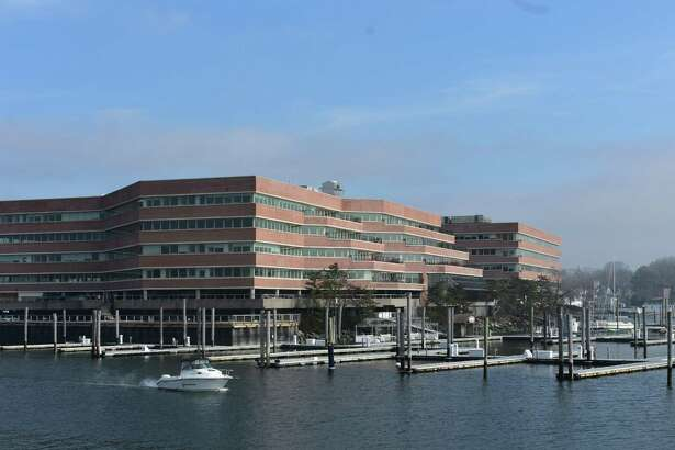 The Shippan Landing building in February 2018 at 290 Harbor Dr. in Stamford, Conn., with First Reserve among the new arrivals after moving its headquarters there from Greenwich.