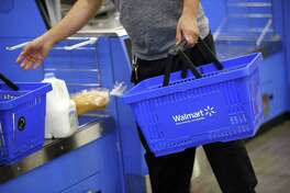 Shares of Walmart stock fell nearly 10 percent Tuesday morning, to their lowest level since October 2015.