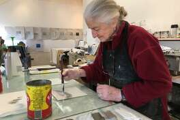 A new exhibit by Lou Hicks and Marina Ancona will be opening at the Center for Contemporary Printmaking from 2-4 p.m. on Sunday, Feb. 25.