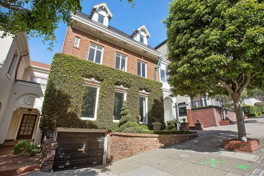 2624 Green St. in Pacific Heights was built in 1908 and available for $13.5 million.  Photo: Open Homes Photography
