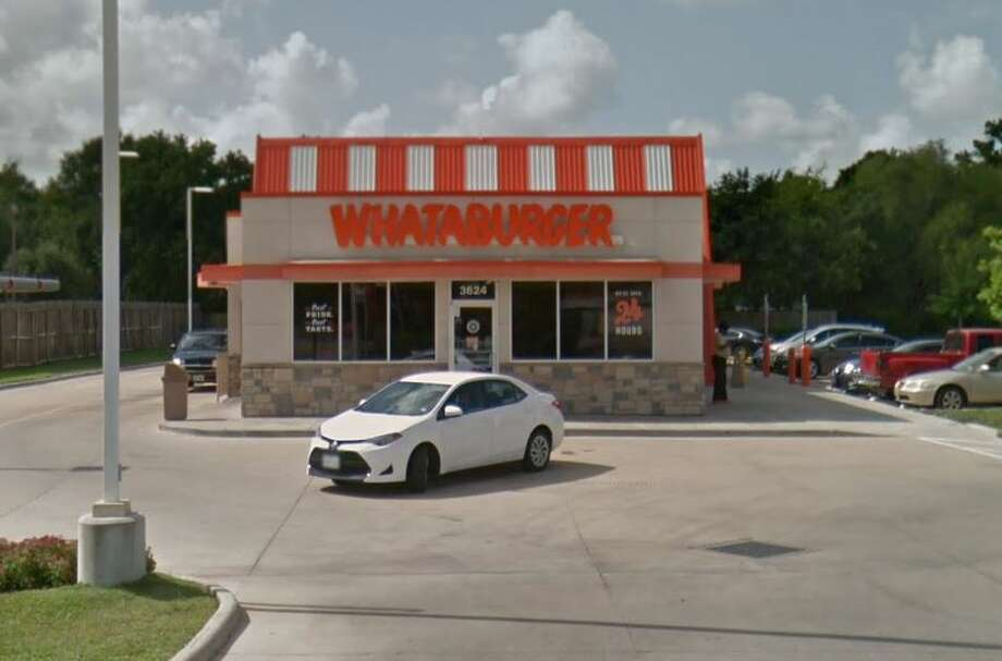 Most people go through the Whataburger drive-through in a car. But not two women in Corpus Christi. Photo: Google Maps
