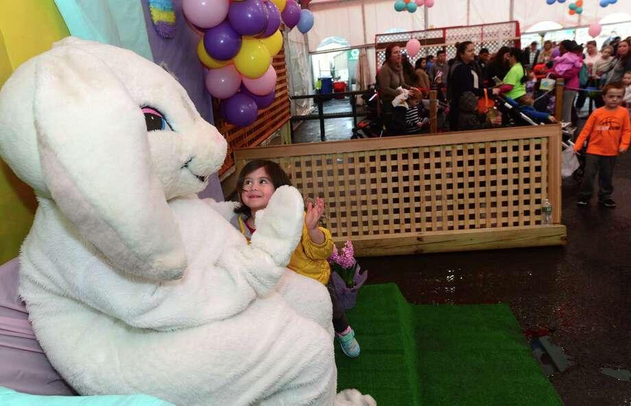 Stew Leonard's Norwalk store is hosting an Easter Egg Hunt Eggs-Travaganza starting at 4 p.m. on Monday, March 19. Photo: Erik Trautmann / Hearst Connecticut Media / Norwalk Hour