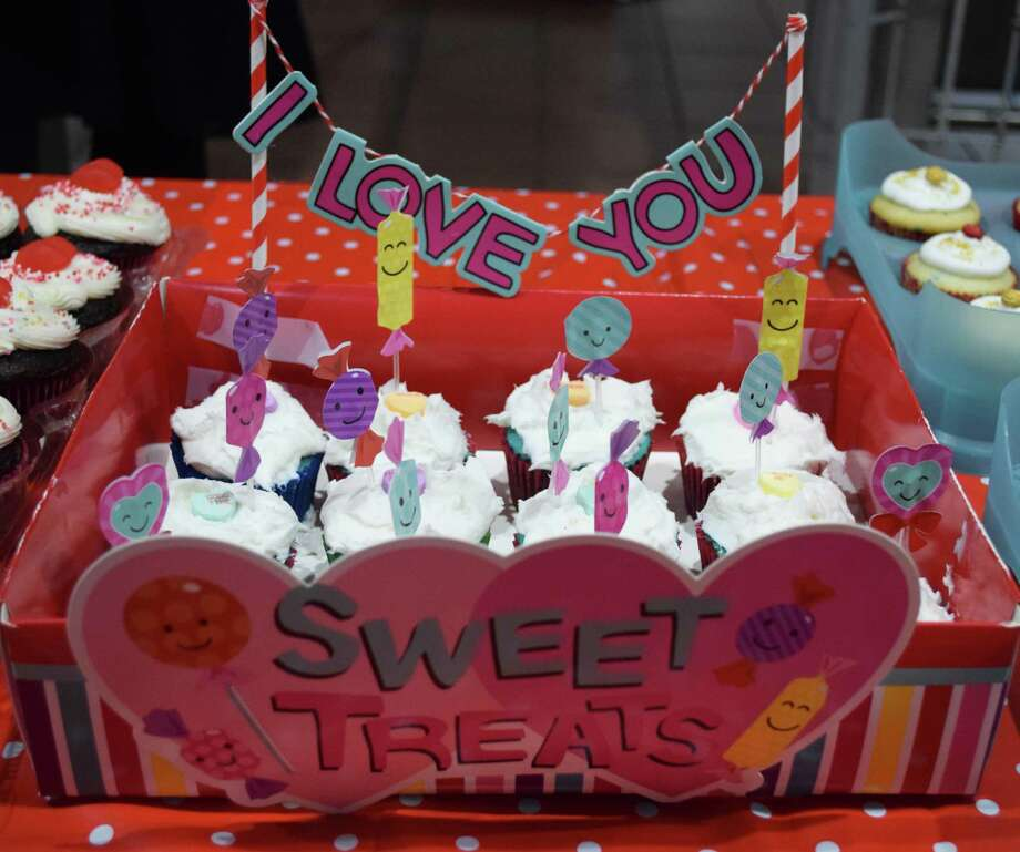 Spectrum/Sweet treats like this were among the items guests could enjoy while attending the Girl Scouts annual Sweetheart Dance held Feb. 9, 2018 at New Milford High School. The dance was sponsored by Troop 40236. Photo: Deborah Rose / Hearst Connecticut Media / The News-Times  / Spectrum