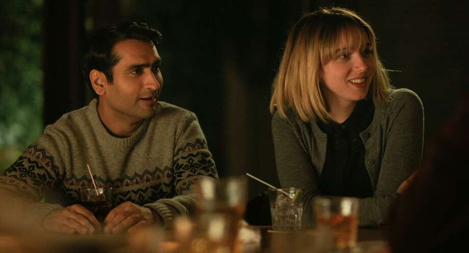 "Kumail Nanjiani and Zoe Kazan star in ""The Big Sick,"" which is up for best original screenplay. This funny, heartwarming and very modern roller coaster ride of a love story is based on the real-life courtship of writers Nanjiani, a Pakistani-American standup comedian, and Emily V. Gordon. Holly Hunter and Ray Romano co-star. Stream on Amazon Prime, or rent or buy via Amazon, Fandango Now and iTunes. Photo: Sarah Shatz /Lionsgate"