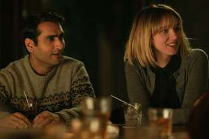 """Kumail Nanjiani and Zoe Kazan star in """"The Big Sick,"""" which is up for best original screenplay. This funny, heartwarming and very modern roller coaster ride of a love story is based on the real-life courtship of writers Nanjiani, a Pakistani-American standup comedian, and Emily V. Gordon. Holly Hunter and Ray Romano co-star. Stream on Amazon Prime, or rent or buy via Amazon, Fandango Now and iTunes."""