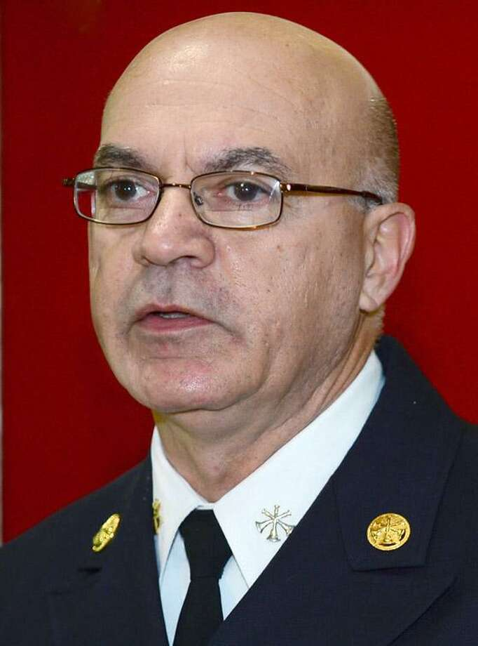 Gino Gatto, Norwalk's new fire chief. Photo: Erik Trautmann / Hearst Connecticut Media / Norwalk Hour