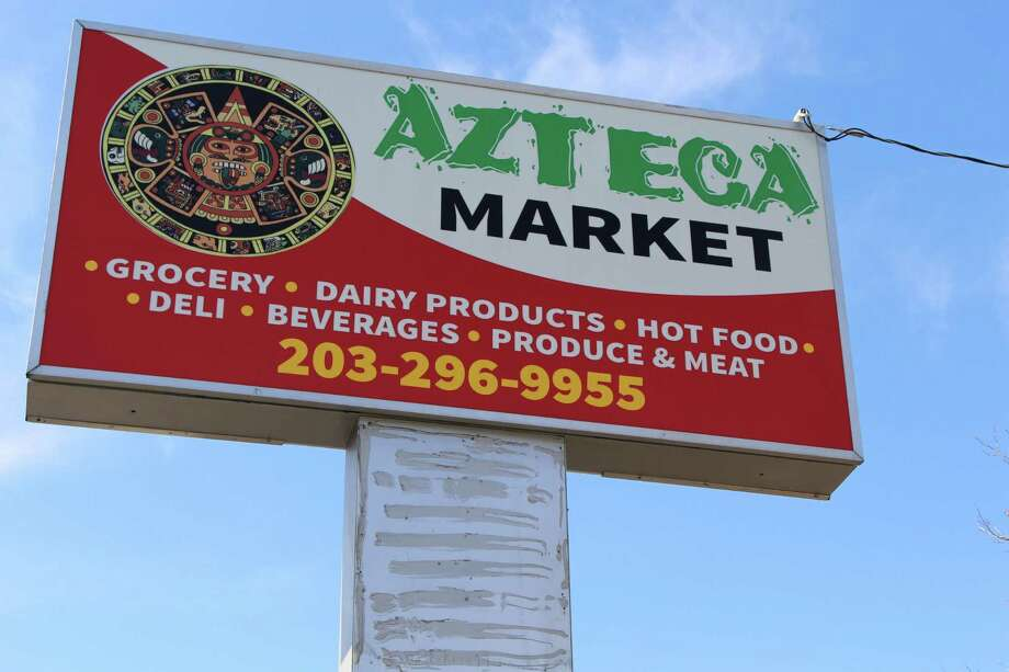 David Vasquez, owner of Azteca Market is awaiting on a ZBA vote on his plans to open Azteca Restaurant in the same building at 522 Pequonnock Street. Photo: Jordan Grice / Hearst Connecticut Media / Connecticut Post