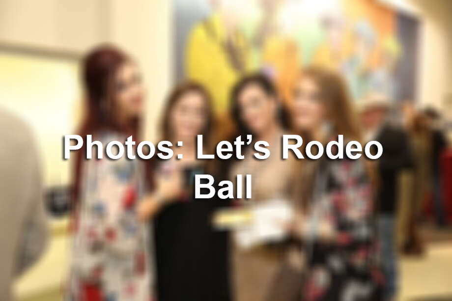 Let's Rodeo Ball adds some fancy to the San Antonio Stock Show & Rodeo. Photo: Mysa