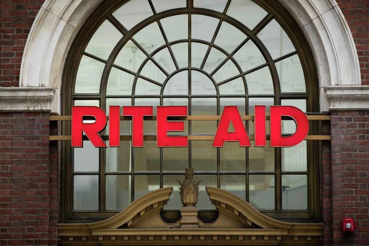 FILE - This Oct. 21, 2016 file photo shows a Rite Aid location in Philadelphia. (AP Photo/Matt Rourke)