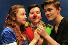 "Circophany presents ""As You Wish"" in Middletown. From left are Tatyana Johnson of Middletown, Sydney Feinberg of Guilford and Rowan Trowbridge-Wheeler of Middletown."