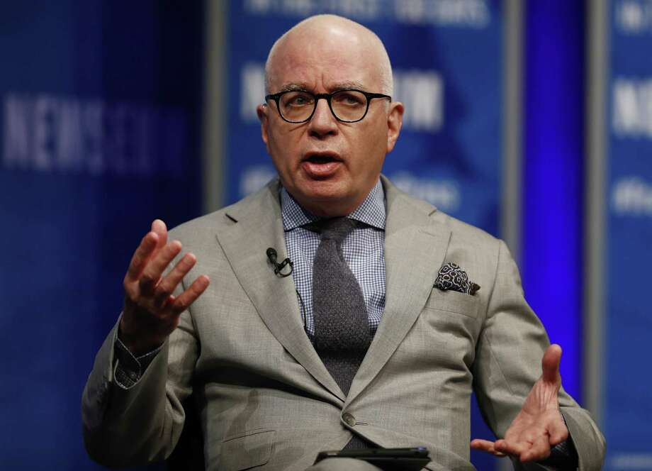 Author Michael Wolff will appear at the Tobin Center on May 5. Photo: Carolyn Kaster /Associated Press / Copyright 2017 The Associated Press. All rights reserved.