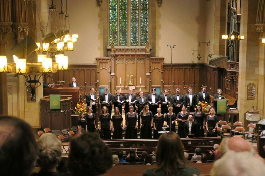 GMChorale presents a special concert by Alchemy, with 24 voices comprised of both members of the chorale and professional singers, on Sunday, March 11. Photo: Contributed Photo