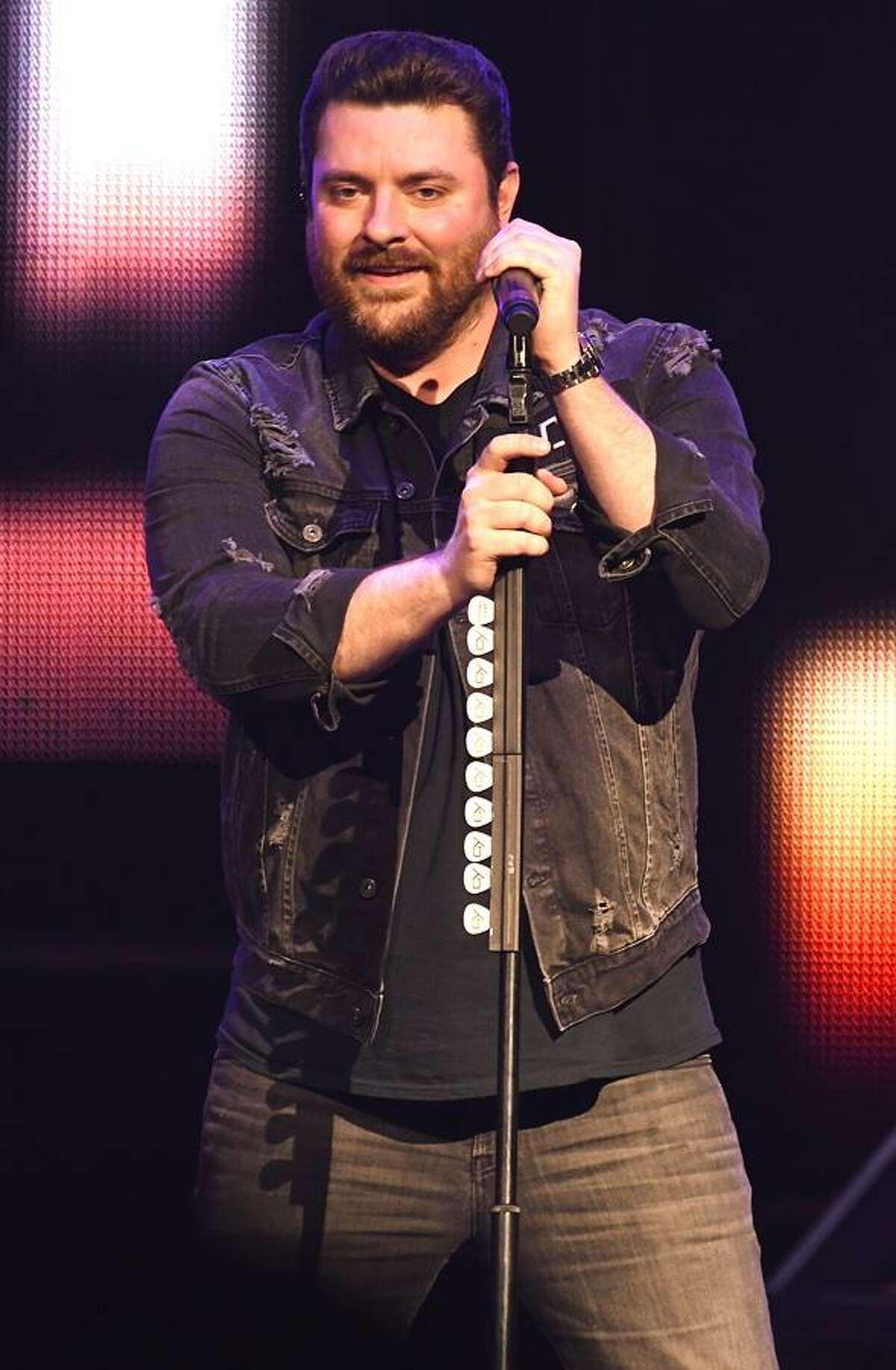 Country music singer and songwriter Chris Young is shown performing on stage during a sold out concert appearance at the Foxwoods Resort Casino in Mashantucket on Feb. 3. In 2006, he was declared the winner of the television program ?