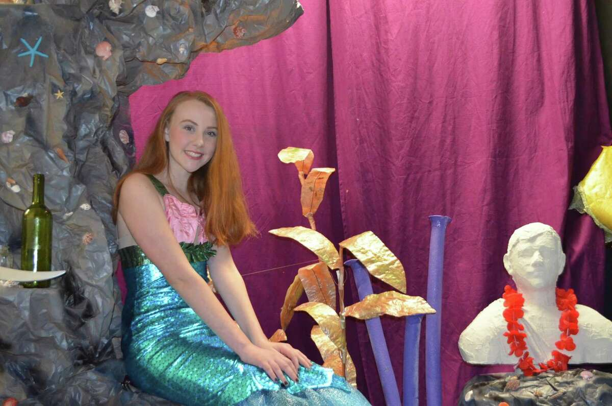 """Kidz Konnection will stage the children's musical, """"The Little Mermaid"""" in Clinton March 9-11. Above, Rebecca Kavanaugh of Clinton will play the role of the sea princess, Ariel."""