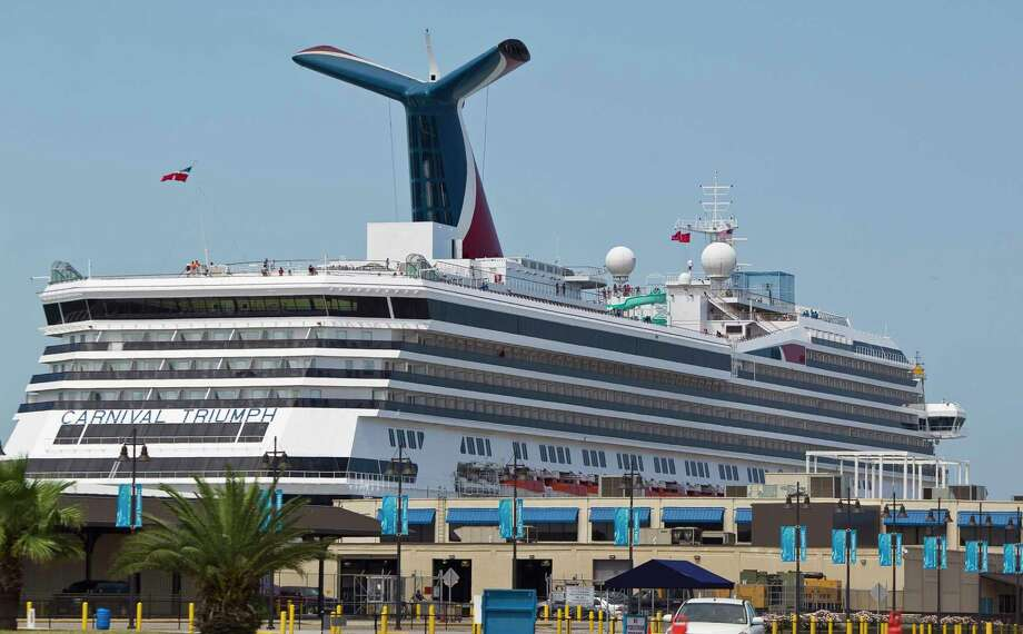 The Carnival Triumph cruise ship prepares to depart, Thursday, June 13, 2013,at the Port of Galveston in Galveston. R( Nick de la Torre / Houston Chronicle ) Photo: Nick De La Torre, Staff / © 2013  Houston Chronicle