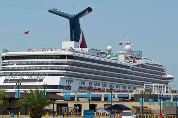The Carnival Triumph cruise ship prepares to depart, Thursday, June 13, 2013,at the Port of Galveston in Galveston. R( Nick de la Torre / Houston Chronicle )