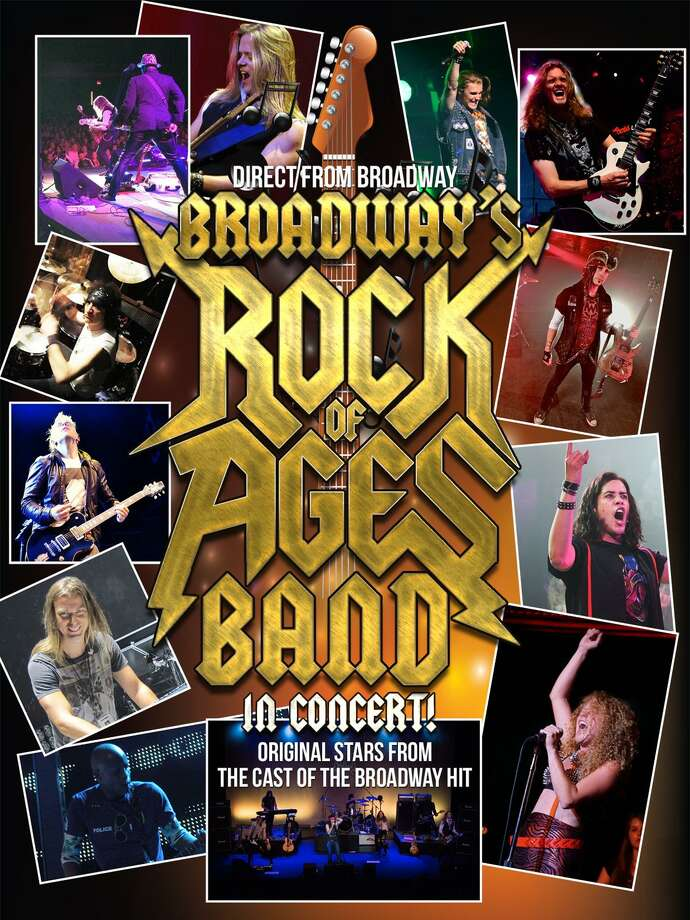The Palace Theater in Waterbury presents Broadway's Rock of Ages band in concert on Saturday, March 3. Photo: Contributed Photos