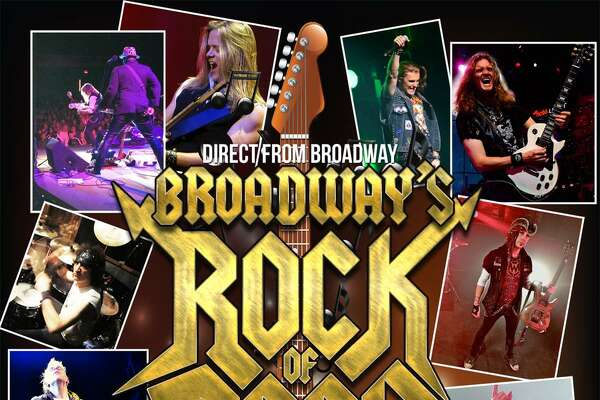 The Palace Theater in Waterbury presents Broadway's Rock of Ages band in concert on Saturday, March 3.