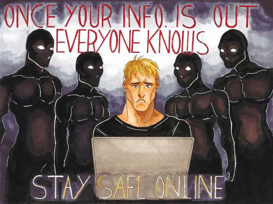 Gloversville High School senior Michelle Millett is among the 12 winners of the New York State Office of Information Technology Services? the Kids Safe Online poster contest. (Provided photo)