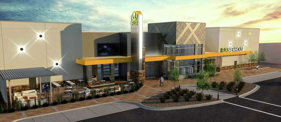 Flix Brewhouse, a combination movie theater and brewpub, is planned for the Harvest Green master-planned community in Fort Bend County. Photo: Courtesy Of Trammell Crow Co.