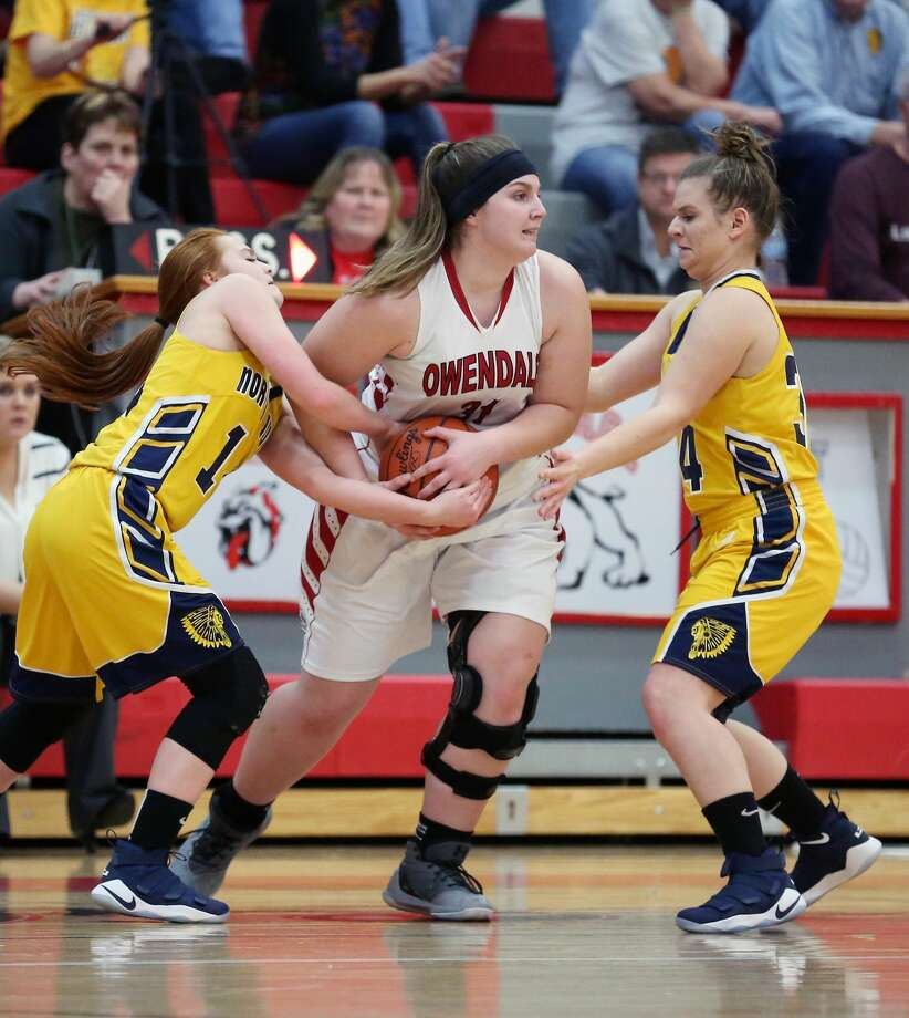 North Huron at Owen-Gage — Girls Basketball 2018 Photo: Paul P. Adams/Huron Daily Tribune