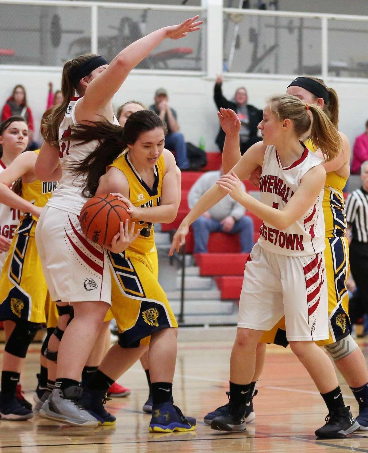 North Huron at Owen-Gage - Girls Basketball 2018
