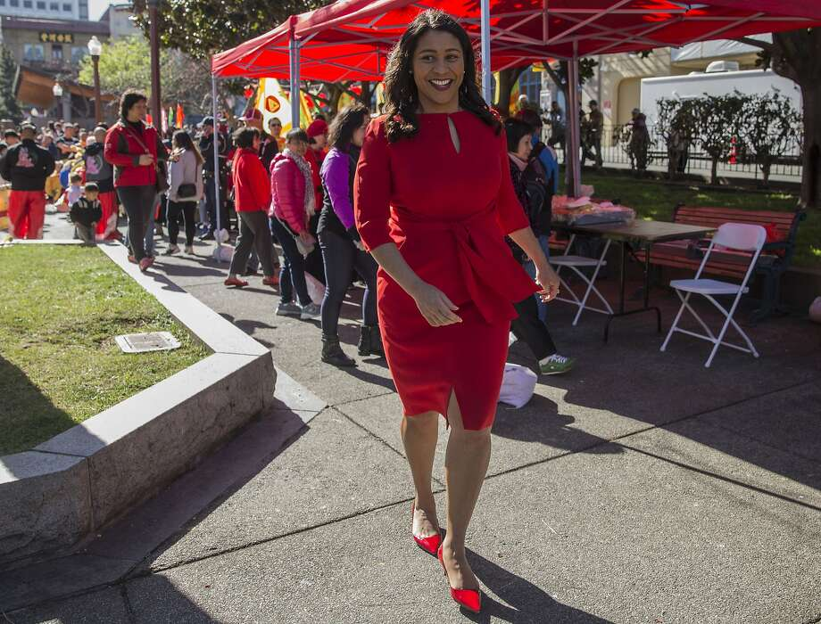 San Francisco Board of Supervisors President London Breed walks through Portsmouth Square during the kick-off event for Chinese New Year in Chinatown Friday, Feb. 16, 2018 in San Francisco, Calif. Photo: Jessica Christian, The Chronicle