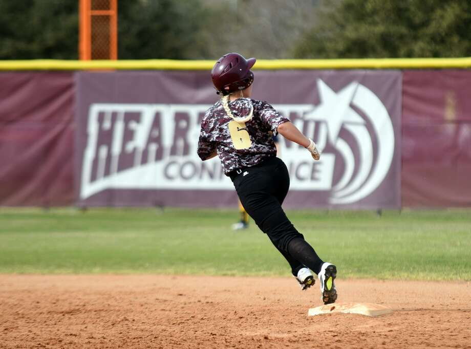 Center fielder Cassie Cannon was 4-for-4 with a pair of runs in Tuesday's doubleheader opener at Texas A&M-Kingsville. The Dustdevils lost both matchups falling 3-2 and 7-1 to drop to a program-worst 3-15 this year. Photo: Christian Alejandro Ocampo /Laredo Morning Times File / Laredo Morning Times