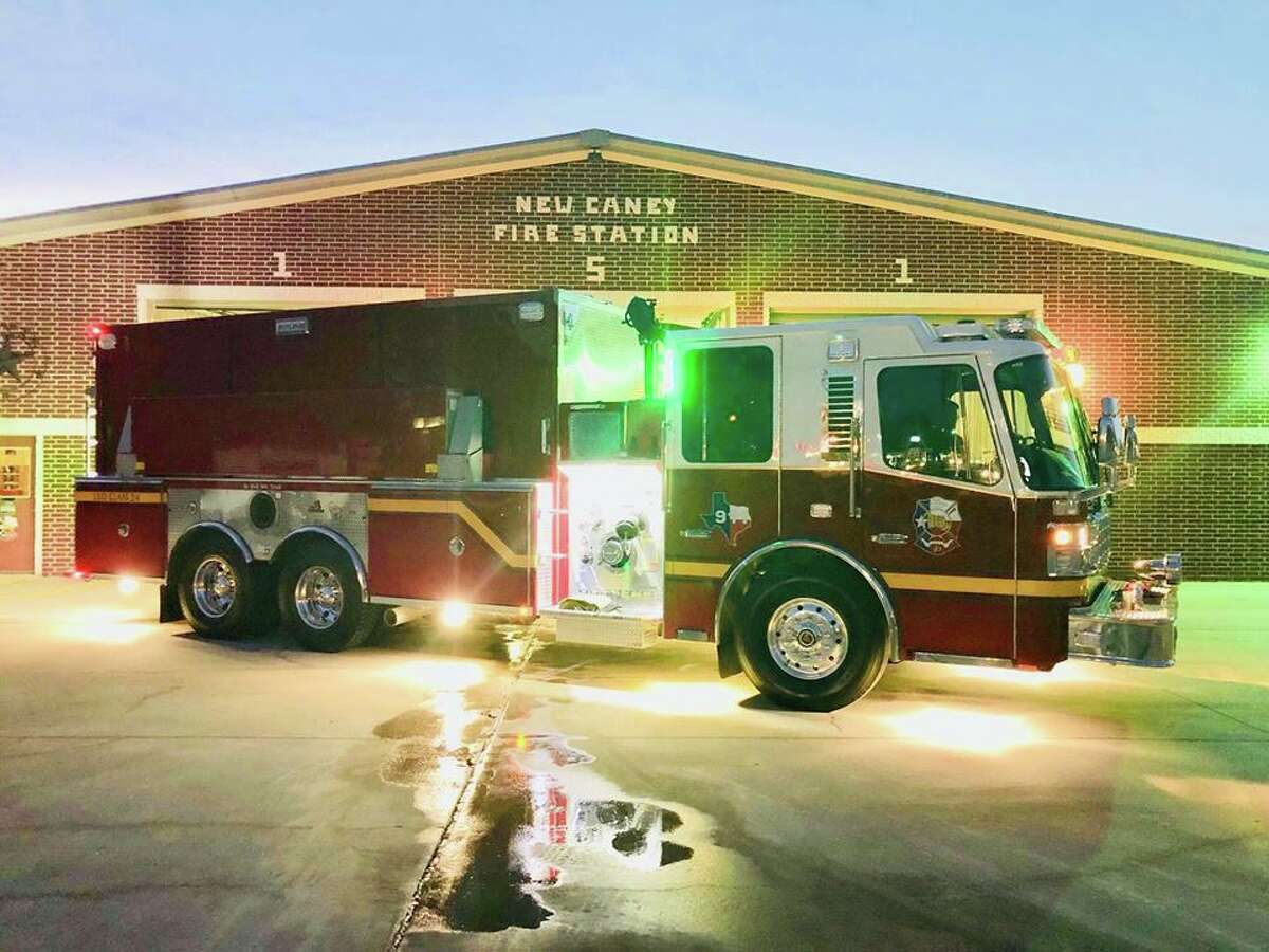 The East Montgomery County Fire Department along with the Caney Creek Fire Department were called to a residential fire at approximately 5 a.m. on Saturday morning. This call came 24 hours after EMC Fire Station 152 placed their new tanker into service