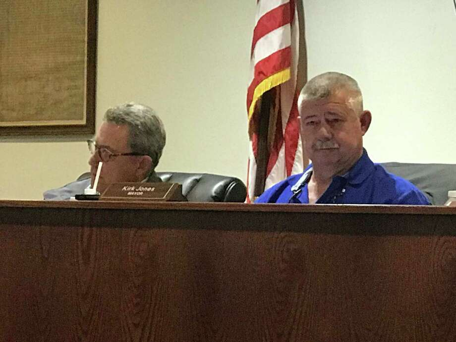 Montgomery City Attorney Larry Foerster said Tuesday he is seeking clarification from the Texas Railroad Commission on a previous ruling that may not have allowed the LDC to charge customers within the city of Montgomery. Photo: Meagan Ellsworth