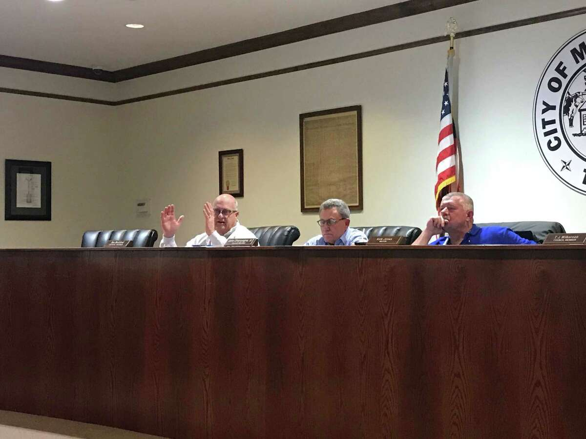 During the meeting, the council agreed to annex land and split 2 percent of the sales tax with Montgomery County Emergency Service District No. 2 in anticipation of a new commercial development.