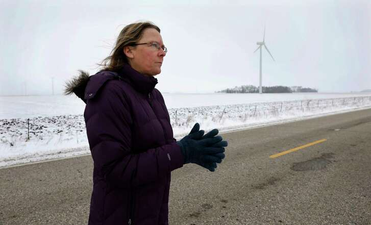 Dorenne Hansen of Glenville, Minn., is leading the opposition in that state to the development of wind-farm projects. So far, her efforts have been largely successful.