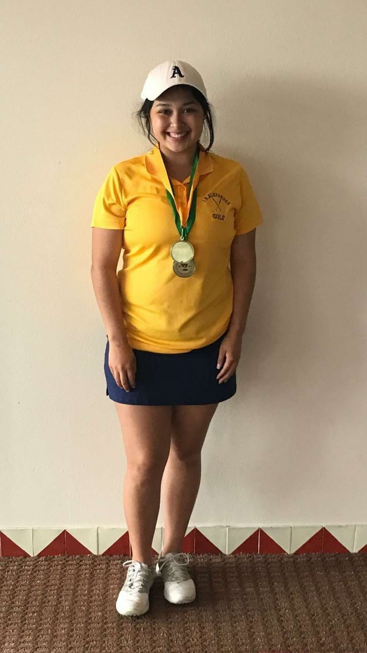 Monica Rangel shot an 83 Tuesday to finish second place at the Nixon Golf Invitational at the Max A. Mandel Golf Course.