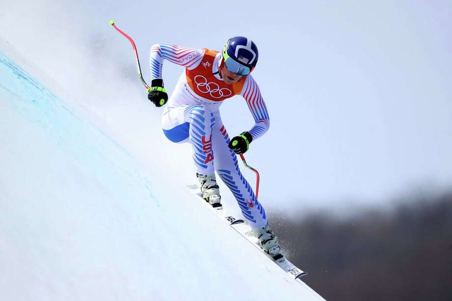PYEONGCHANG-GUN, SOUTH KOREA - FEBRUARY 21:  Lindsey Vonn of the United States competes during the Ladies' Downhill on day 12 of the PyeongChang 2018 Winter Olympic Games at Jeongseon Alpine Centre on February 21, 2018 in Pyeongchang-gun, South Korea.  (Photo by Ezra Shaw/Getty Images) Photo: Ezra Shaw / 2018 Getty Images