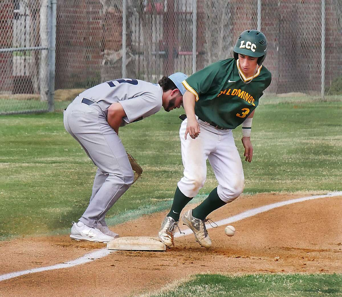 Ricky Villarreal was 3-for-7 with a walk and two runs Saturday as LCC fell 12-4 and 13-5 in a doubleheader at San Jacinto.