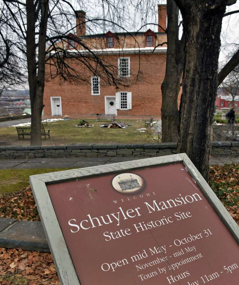 The Schuyler Mansion State Historic Site holds its annual Twelfth Night Celebration, OSalutations of the Season!O Saturday Jan. 7, 2017 in Albany, NY.  (John Carl D'Annibale / Times Union) Photo: John Carl D'Annibale / 20039305A