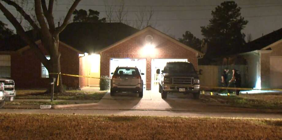 A Katy homeowner is in critical condition after two men approached him in his open garage and shot him multiple times, Monday, Feb. 20, 2018. Photo: Metro Video