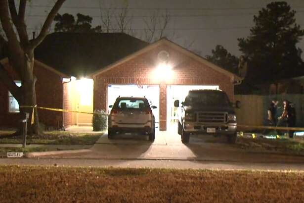 A Katy homeowner is in critical condition after two men approached him in his open garage and shot him multiple times, Monday, Feb. 20, 2018.