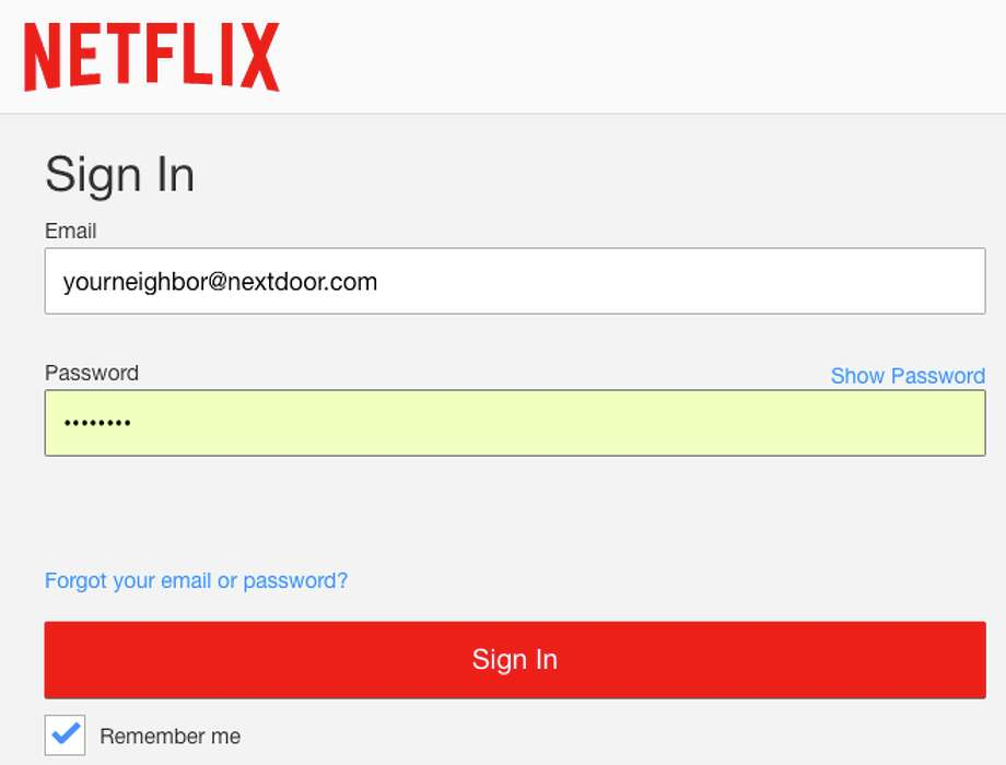 Have you ever shared your TV login with someone outside your household?